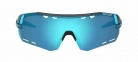Очки Tifosi Alliant черно-синий Clarion Blue/AC Red/Clear 3