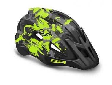 Шлем R2 Wheelie 56-58(р) черно-зеленый