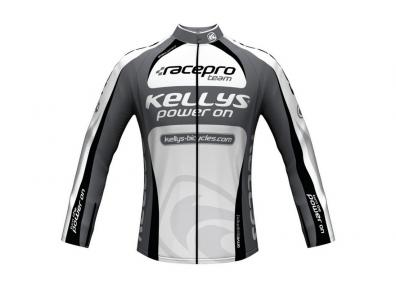 Веломайка KLS Pro Team длинный рукав XL(р) серый