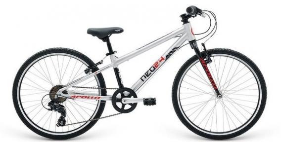 Велосипед 2018 Apollo Neo 24 Boys черно-красный