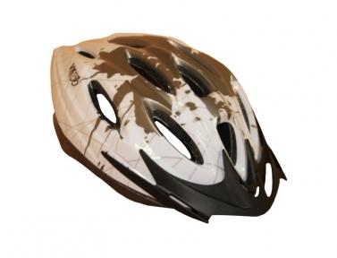 Шлем VK Pride YJ-17 58-61(р) бело-серый