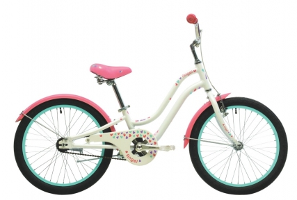 Велосипед 2018 Pride Angel 20 бело-розовый