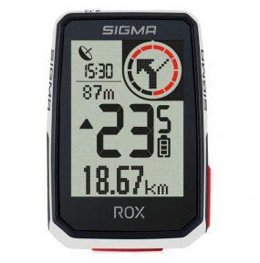Велокомпьютер Sigma ROX 2.0 White GPS