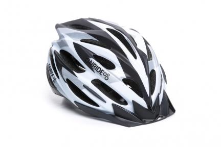 Шлем OnRide Grip 55-58(р) бело-черный