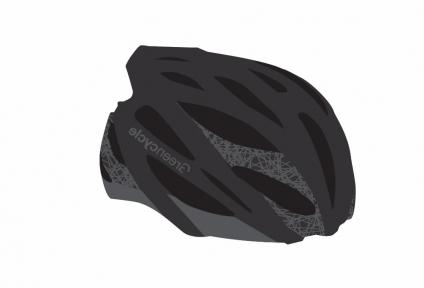 Шлем Green Cycle New Alleycat 58-61(р) черно-серый