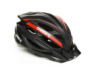 Шлем OnRide Grip 55-58(р) черно-красный
