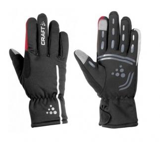 Перчатки Craft Siberian M(р) черно-красные