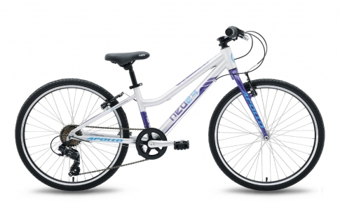 Велосипед 2018 Apollo Neo 24 Girls фиолетово-синий