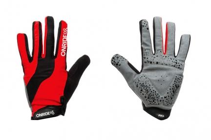 Перчатки OnRide Long L(р) красно-черные