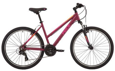 Велосипед 2021 Pride Stella 6.1 26 S(р) бордовый