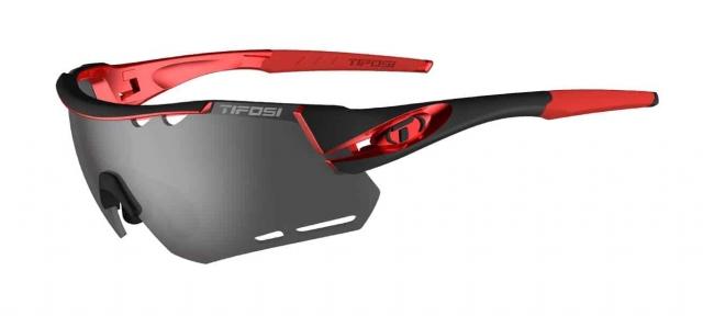 Очки Tifosi Alliant черно-красный Smoke/AC Red/Clear