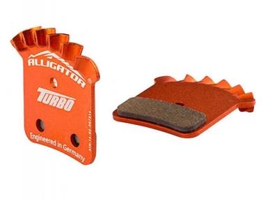 Тормозные колодки Alligator Avid Elixir Turbo органика с радиатором