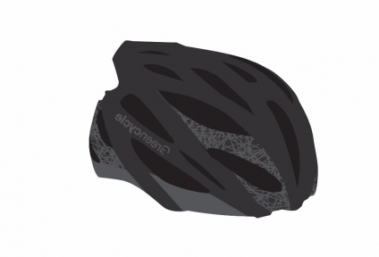 Шлем Green Cycle New Alleycat 54-58(р) черно-серый