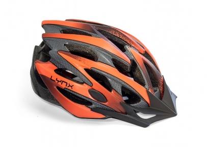 Шлем Lynx Les Gets 61-63(р) оранжево-черный