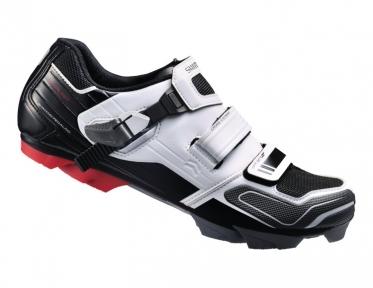 Велообувь Shimano SH-XC51-W 44(р) бело-черные