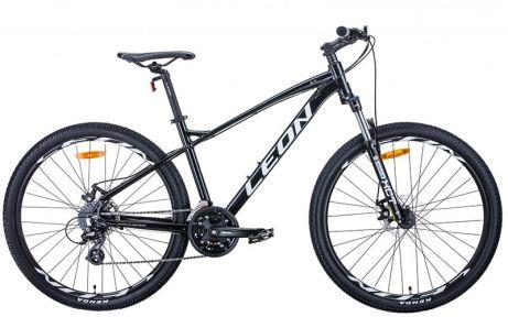 Велосипед 2021 Leon XC-90 27.5 DD (OPS-LN-27.5-086) 16.5(р) черно-белый