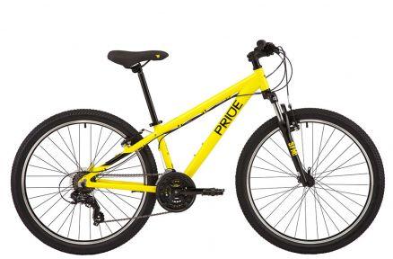 Велосипед 2021 Pride Marvel 6.1 26 XS(р) желтый