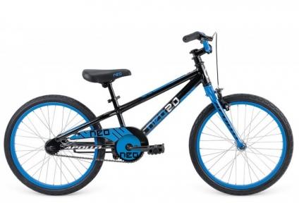 Велосипед 2015 Apollo Neo 20 Boys черно-синий