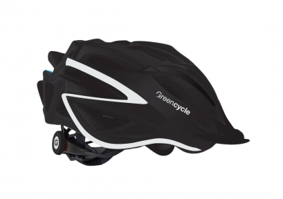 Шлем Green Cycle New Rock 54-58(р) черно-белый