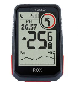 Велокомпьютер Sigma ROX 4.0 HR Set Black GPS
