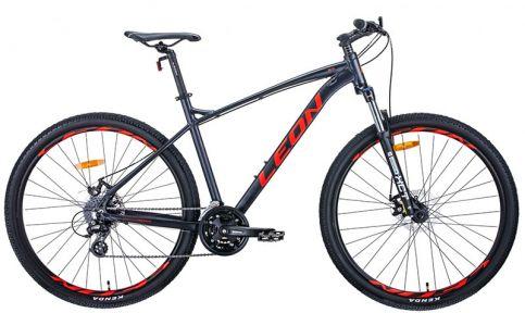 Велосипед 2021 Leon TN-90 29 DD (OPS-LN-29-096) 20(р) графитово-красный