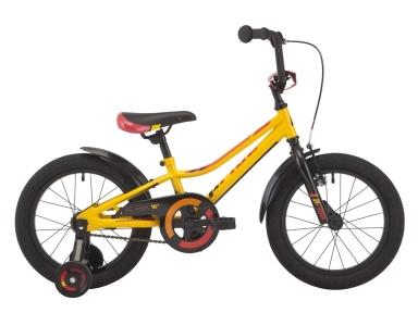 Велосипед 2018 Pride Flash 16 черно-желтый