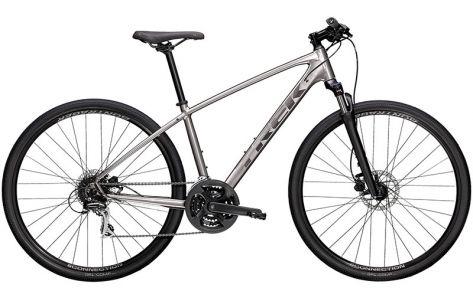 Велосипед 2021 Trek Dual Sport 2 L(р) серый