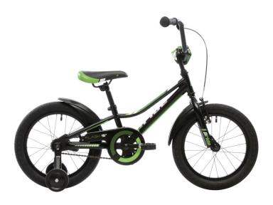 Велосипед 2018 Pride Flash 16 черно-зеленый