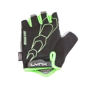 Перчатки Lynx Race XL(р) черно-зеленые