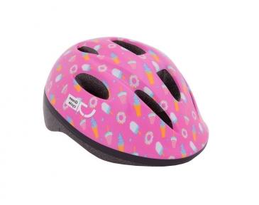 Шлем Green Cycle Sweet детский 48-52(р) малиновый-розовый