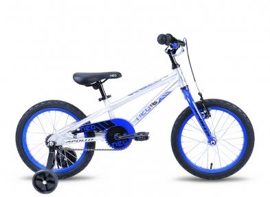 Велосипед 2018 Apollo Neo 16 Boys серебристо-синий