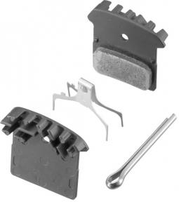 Тормозные колодки Shimano F01+радиатор