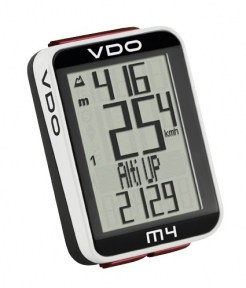 Велокомпьютер VDO M4 WR + альтиметр, проводной