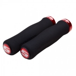 Грипсы Sram Locking Grips Foam Contour black/red
