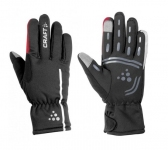 Перчатки Craft Siberian glove L(р) black-red