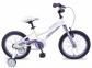 Велосипед 2017 Apollo Neo 16 Girls бело-сиреневый