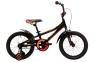 Велосипед 2018 Pride Tiger 16 черно-красный